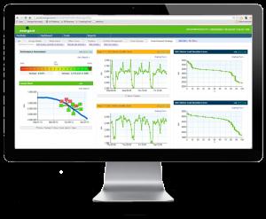 Energent (Energy Management Information System) dashboard screenshot