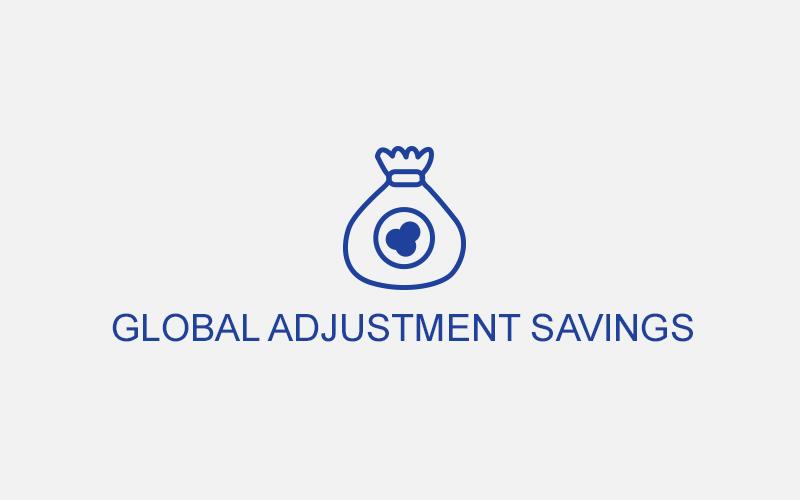 Global Adjustment Savings