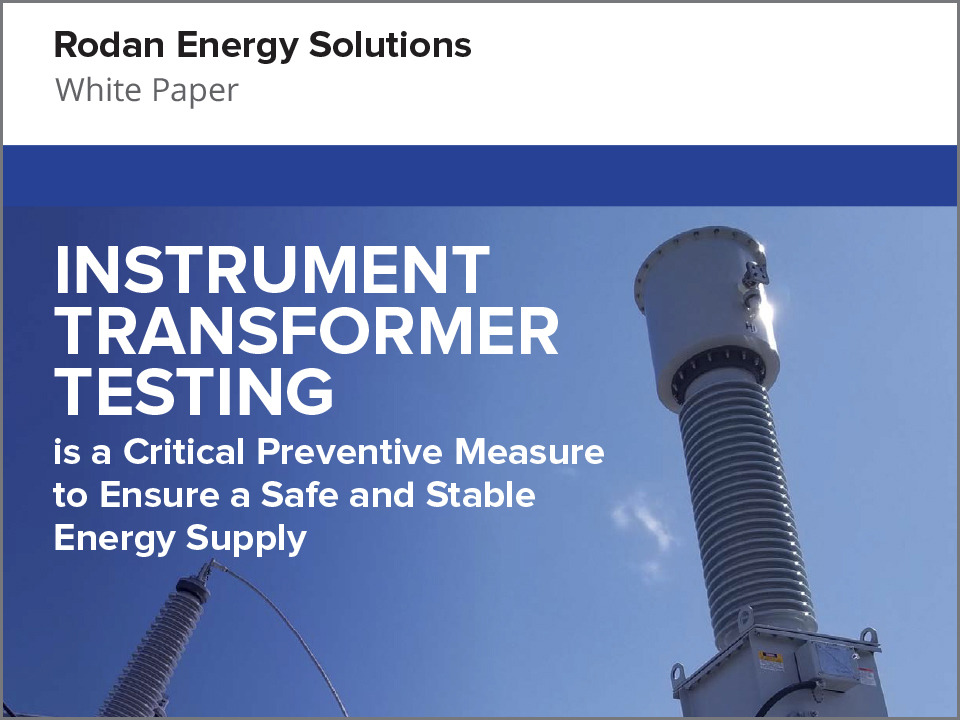 White Paper: Instrument Transformer Testing