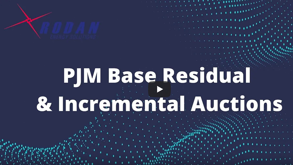 PJM Capacity Auctions