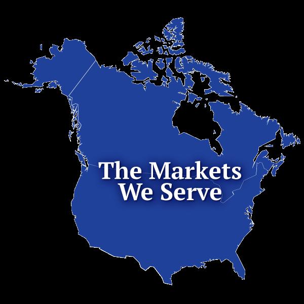 The markets we serve