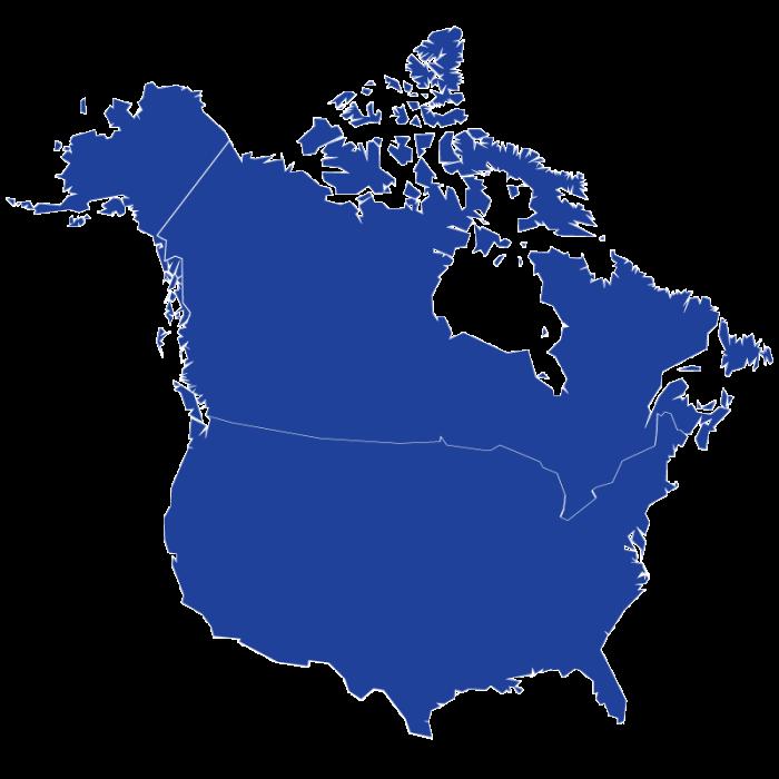 Markets Served Map
